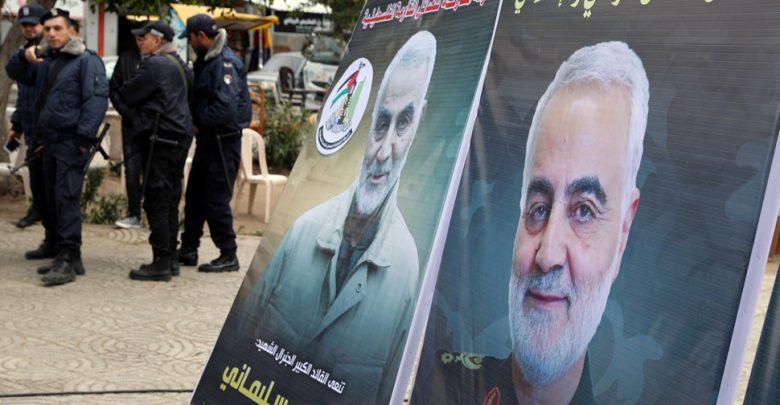 جنازة-السليماني-بدأت-وسط-شعارات-في-طهران-،-قالت-ابنة-هذا-الشيء-الكبير-خلال-الصحوة-العامة