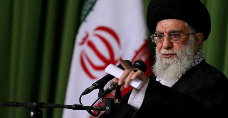 زعيم-إيران-يقول-إن-الهجوم-الصاروخي-ينتقد-الولايات-المتحدة