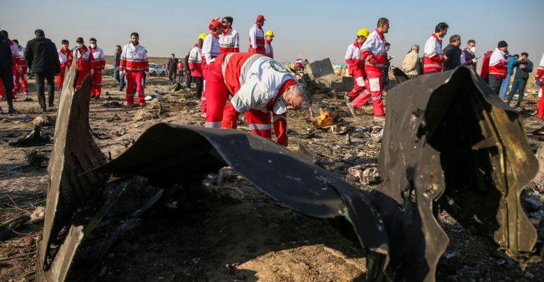 أوكرانيا-بالاحباط-بسبب-تحطم-طائرة-في-إيران-،-ودفعت-تكريم-لأولئك-الذين-لقوا-حتفهم