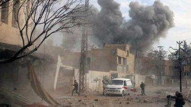 الجيش-السوري-يستعيد-سراقب-بعد-أربعة-أيام-من-القتال-،-يقاتل-مع-المتمردين-المدعومين-من-تركيا