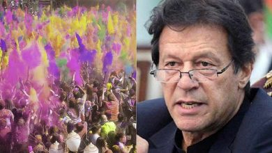 رئيس-الوزراء-الباكستاني-عمران-خان-يهنئ-هولي-للأقلية-الهندوسية