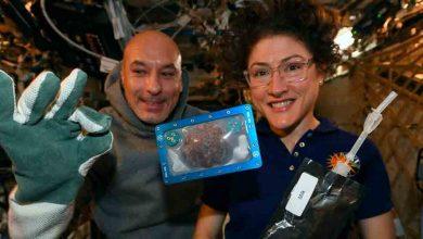 مصنوعة-الكوكيز-رقاقة-الشوكولاته-لأول-مرة-في-الفضاء-،-ساعتين-من-الخبز