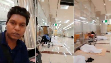إغلاق-مطار-دبي:-قضى-العديد-من-الهنود-أيامهم-بدون-طعام-وماء-،-وطلبوا-المساعدة