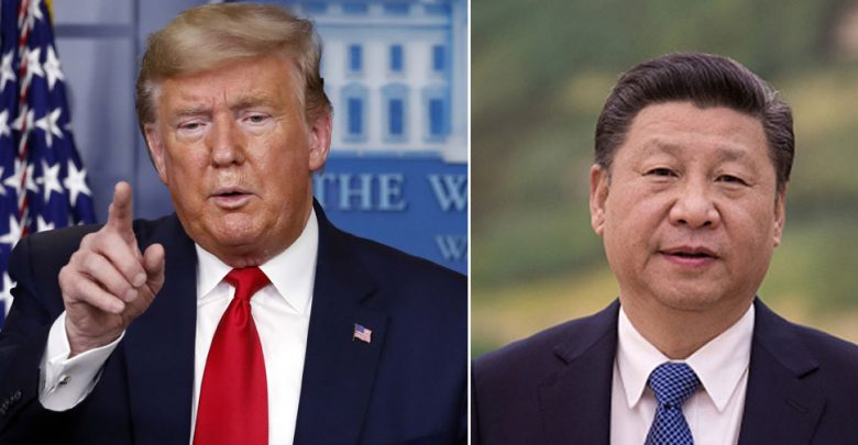 """كان-ترامب-يصف-فيروس-كورونا-بأنه-""""فيروس-صيني""""-،-بارد-أمام-جين-بينغ-في-قمة-مجموعة-العشرين"""