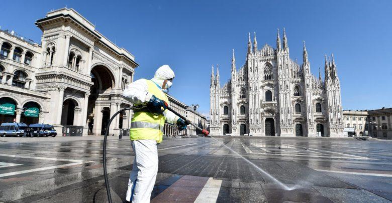 أنباء-عن-الارتياح-لأول-مرة-في-الأسبوعين-الأخيرين-في-إيطاليا-تئن-بسبب-فيروس-كورونا