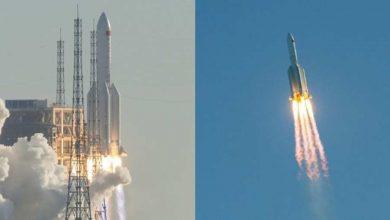 """شرعت-الصين-في-""""مهمة-القمر""""-عن-طريق-تشابك-العالم-في-كورونا-،-الإطلاق-الناجح-للصواريخ"""