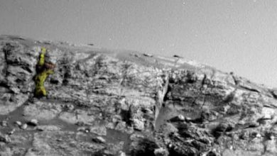 """نشرت-وكالة-ناسا-صوراً-جديدة-للمريخ-،-زعمت-أن-""""المحارب-الأجنبي""""-يشاهدها"""