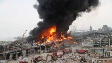 video:-दर्दनाक-विस्फोटों-के-एक-महीने-बाद-अब-बेरूत-बंदरगाह-पर-लगी-भीषण-आग