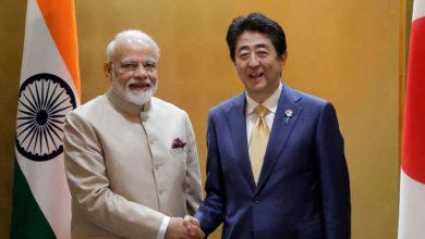 """بعد-صفقة-عسكرية-مع-اليابان-،-تحدث-رئيس-الوزراء-مودي-إلى-""""صديق""""-شينزو-آبي-عبر-الهاتف"""