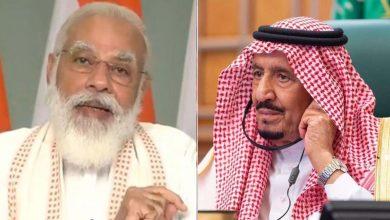 تحدث-رئيس-الوزراء-مودي-مع-ملك-المملكة-العربية-السعودية-عبر-الهاتف-،-وناقش-هذه-القضايا