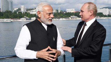 هنأ-الرئيس-بوتين-رئيس-الوزراء-مودي-بعيد-ميلاده-،-وقال-–-العلاقات-بين-البلدين-قيمة