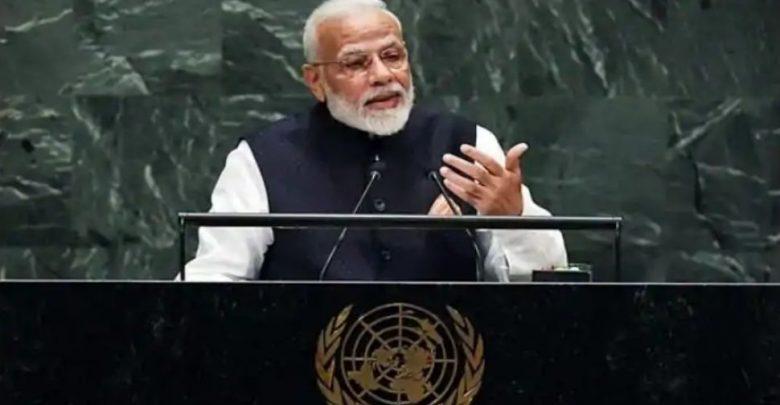 رئيس-الوزراء-مودي-يلقي-كلمة-أمام-الجلسة-التاريخية-للجمعية-العامة-للأمم-المتحدة-،-وسيشارك-في-هذه-المناقشات