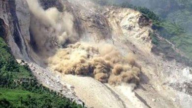 ضربت-الانهيارات-الأرضية-نيبال-،-وقتل-12-،-وما-زال-9-مفقودين