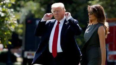 اخبار-سيئة!-الرئيس-الأمريكي-دونالد-ترامب-وزوجته-ميلانيا-ترامب-ترامب-إيجابية-كورونا