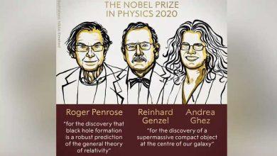 حصل-العلماء-الذين-كشفوا-سر-الثقب-الأسود-على-جائزة-نوبل-في-الفيزياء