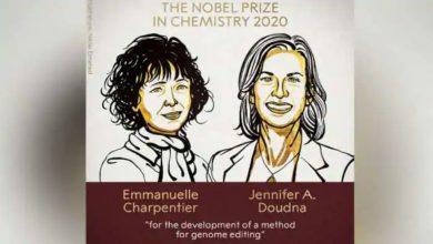 حصلت-عالمتان-تحدثتا-عن-أدوات-تعديل-الجينات-على-جائزة-نوبل-في-الكيمياء