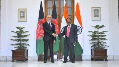 عبد-الله-عبد-الله-يصل-الهند-وسط-محادثات-السلام-الأفغانية-ويلتقي-أجيت-دوفال