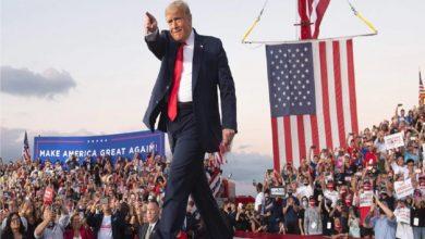 الانتخابات-الأمريكية:-شاهد-دونالد-ترامب-يرقص-في-تجمع-انتخابي-،-وانتشر-الفيديو-بسرعة