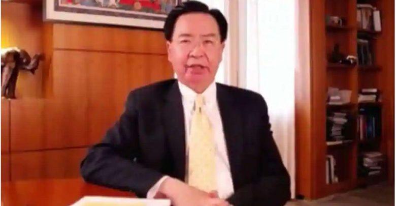 البيان-الكبير-لوزير-خارجية-تايوان-–-دكتاتورية-الصين-غير-مقبولة-على-الإطلاق