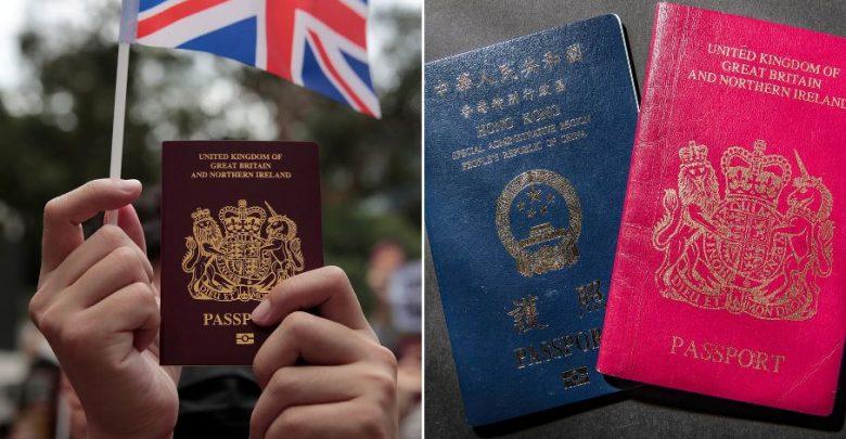 لا-يمكن-للصين-الاعتراف-بجوازات-سفر-المقيمين-في-هونج-كونج-الصادرة-من-بريطانيا