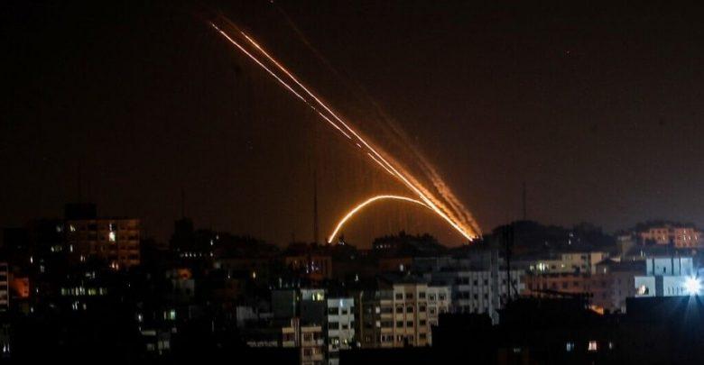 القوات-الإسرائيلية-تهاجم-قواعد-حماس-بعد-إطلاق-صواريخ-من-قطاع-غزة