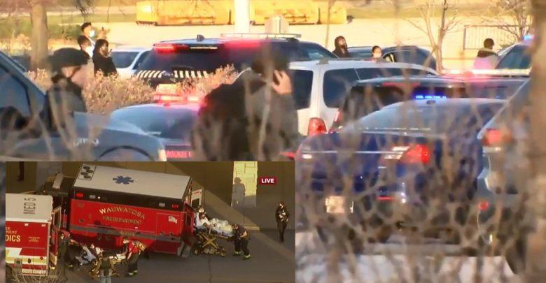 إطلاق-نار-أمريكي-على-مركز-تسوق-ويسكونسن-،-وأصيب-عدد-كبير-،-وطوق-الشرطة-مركز-التسوق