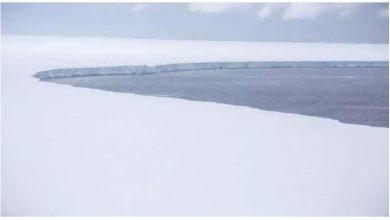 التقط-سلاح-الجو-الملكي-البريطاني-صورًا-لأكبر-جبل-جليدي-في-العالم-،-على-بعد-200-كيلومتر-من-جورجيا-الجنوبية