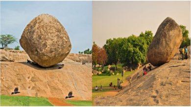 يقع-الحجر-الغامض-للغاية-في-تاميل-نادو-بالهند-،-والذي-لم-يستطع-حتى-العلم-أن-يهزها.