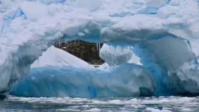 أعطى-العالم-إشارة-خطيرة-،-سوف-تتجمد-الأرض-كلها-بالجليد-،-وبدأت-كتل-الجليد-في-الذوبان