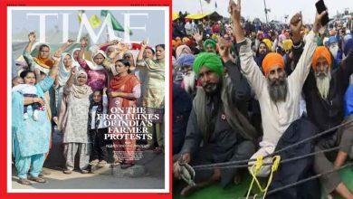 كتبت-مجلة-time-على-غلافها-النساء-المشاركات-في-احتجاج-المزارعين