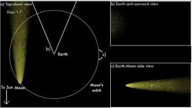 ذيل-القمر:-ظاهرة-غريبة-للفضاء!-ذيل-القمر-الجديد-يخرج-كل-شهر-،-الأرض-ترتدي-قشور