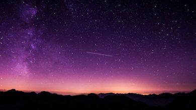 خطوط-النيازك-فوق-كوبا:-كرة-نارية-تتدفق-من-السماء-في-كوبا-،-وضوء-النهار-في-الليل-مع-ضوء-الكويكب
