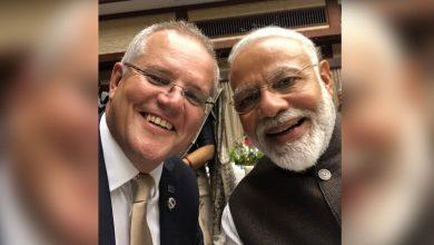هنأ-رئيس-وزراء-أستراليا-سكوت-موريسون-رئيس-الوزراء-ناريندرا-مودي-،-كتب-بالهندية-–-happy-holi
