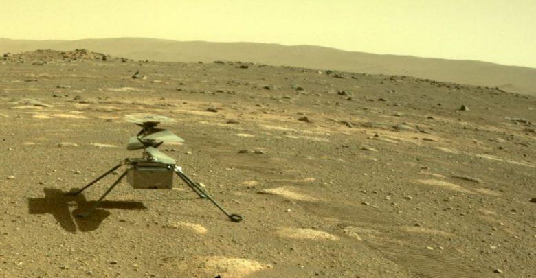 مهمة-المريخ-التابعة-لوكالة-ناسا:-هبطت-مروحية-إبداعية-على-سطح-المريخ-،-وتمثل-الليالي-الحمراء-أبرد-تحدٍ-في-الليل-؛-سيتم-ملء-رحلة-تاريخية