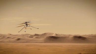 مهمة-المريخ:-اتخذت-ناسا-خطوة-أخرى-،-وقد-نجحت-الرحلة-الثالثة-لطائرة-هليكوبتر-الإبداع