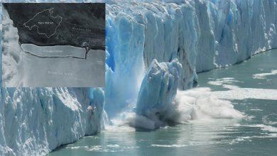 الاحتباس-الحراري:-أكبر-جبل-جليدي-في-العالم-انكسر-في-القارة-القطبية-الجنوبية-،-دلهي-يتضاعف-ثلاث-مرات-في-الحجم