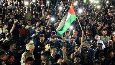 وقف-إطلاق-النار:-مقاتلو-حماس-يخرجون-استعراضًا-في-مدينة-غزة-،-ويظهر-القائد-الأعلى-يحيى-السنوار-لأول-مرة