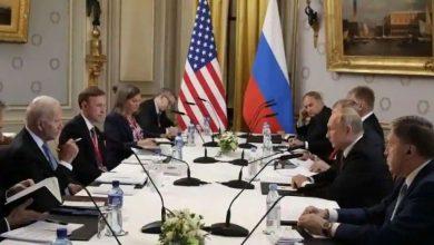 انتهاء-محادثات-قمة-بايدن-وبوتين-،-واشتباك-الصحفيين-الروس-الأمريكيين-مع-بعضهم-البعض