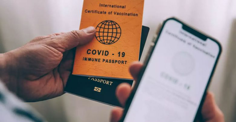 """أعلنت-هذه-الدولة-عن-إصدار-""""جواز-سفر-لقاح""""-للأشخاص-الذين-حصلوا-على-لقاح-كورونا"""
