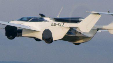 تنهي-سيارة-كلاين-فيجن-flying-car-رحلة-تجريبية-في-سلوفاكيا-،-وتتحول-سيارة-إلى-طائرة-في-دقيقتين