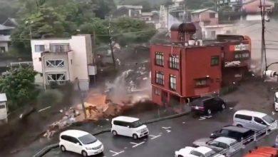تم-هدم-العديد-من-المنازل-بسبب-الانهيار-الطيني-في-طوكيو-،-وفقد-19-شخصًا