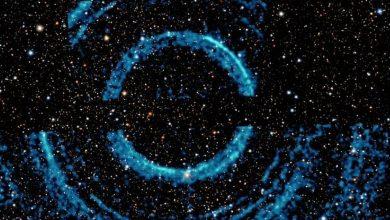 شاركت-ناسا-صورة-جميلة-للثقب-الأسود-مع-حلقات-،-وتذكر-الناس-بوكيمون-كارتون