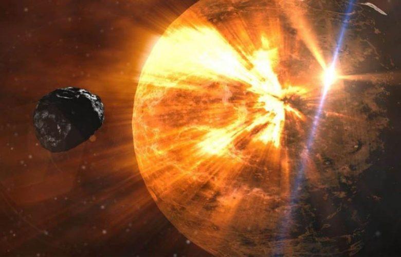 مذنب-عملاق-يتحرك-نحو-الشمس-،-تهديد-كبير-يلوح-في-الأفق-فوق-الأرض؟